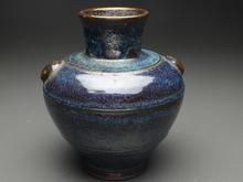 葛明祥 海鼠釉壺