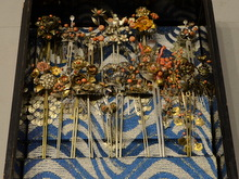 金銀珊瑚 簪