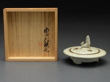 宋窯青磁 平香炉