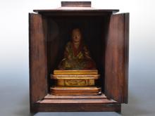 木製弘法大師座像