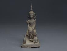 古銅 スコータイ仏