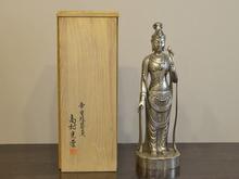 高村光雲 銀製観音菩薩像