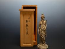 銀製聖観音菩薩像