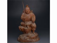 木彫恵比寿像