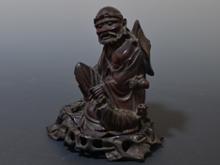 唐木彫刻人物像