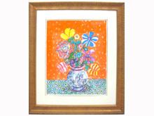 「オレンジバックの花束」