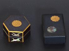 金蒔絵螺鈿ボンボニエール