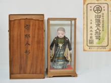 大木平蔵作 市松人形