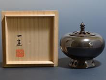 唐銅 菊香炉