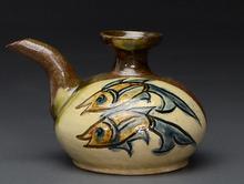 魚文 カラカラ 酒器