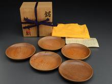 木彫銘々皿