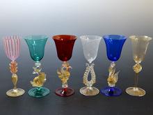 ベネチアンガラス グラス