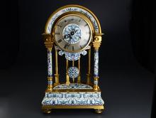 七宝 模中国宮廷時計