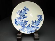 藍鍋島大皿