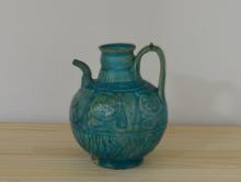 青釉ペルシャブルー 古陶器