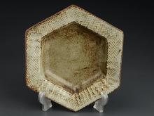 象嵌六角皿