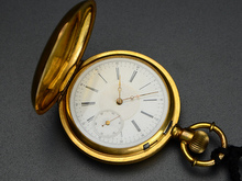 純金懐中時計