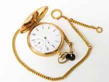 エルジン 純金懐中時計