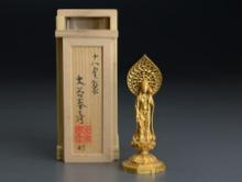 1金製聖観音菩薩立像