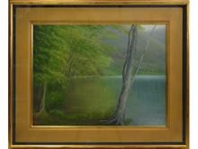 「春の湖畔」