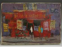 「パリのカフェ」