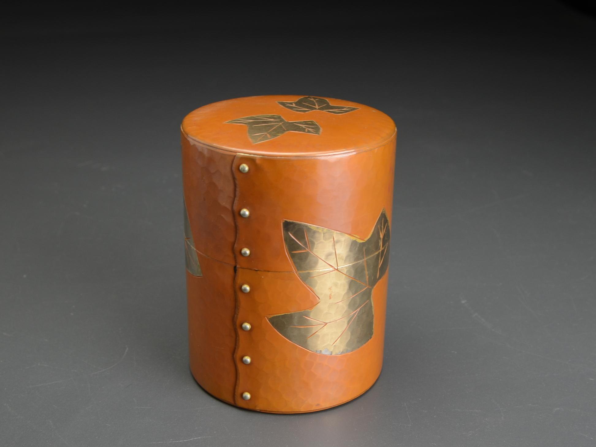 玉川堂銅製茶筒