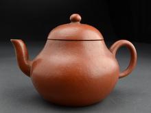 宜興窯 朱泥宝珠式茶瓶