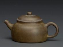紫泥平肩式茶瓶