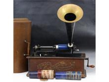 エジソン蝋管蓄音機