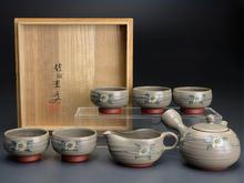 花文 煎茶器