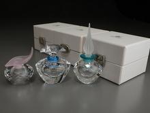 シルバークリスタル 香水瓶