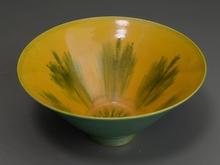 支那黄釉鉢