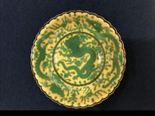 清朝官窯皿