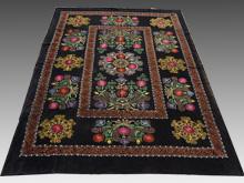 ウズベキスタン 刺繍布