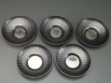 純銀製茶托
