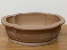木瓜山水彫入大鉢
