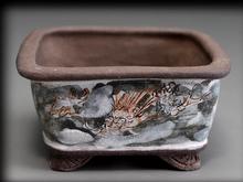 茶山 古盆栽鉢