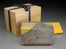 銀金彩匣オルゴール箱