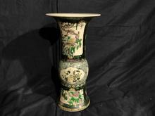 中国色絵花瓶