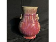 支那辰砂花瓶