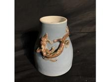 中国彫刻壺