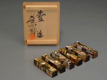 小島雄四郎 螺鈿箸置