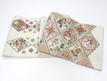 スワトウ刺繍 袋帯