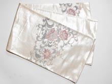 汕頭刺繍 銀箔袋帯