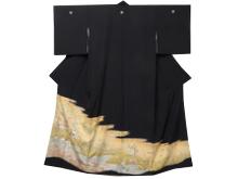 蘇州刺繍作家 椿彩貴 黒留袖