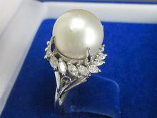 天然南洋パール ダイヤモンドリング