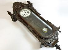 ユンハンス 彫刻振り子時計