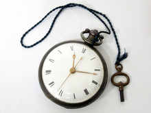 鍵巻き 懐中時計