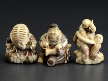 倉田吉水 象牙彫刻 恵比寿