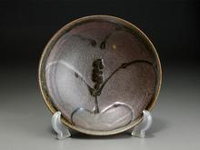 草花文 皿